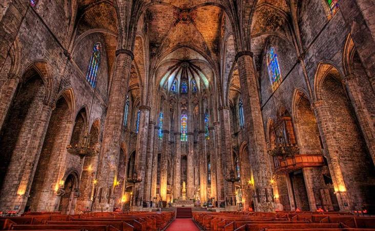 Kathedraal Santa Eulalia in Barcelona